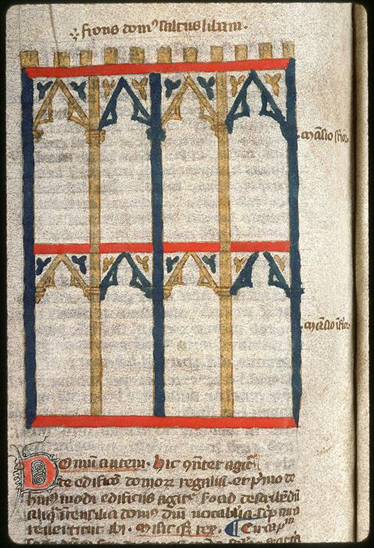 Postilla in Bibliam - Plan de la maison de la Forêt du Liban_0