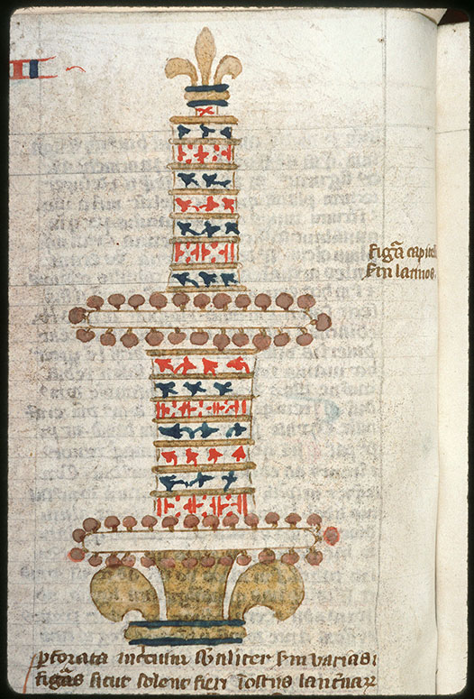 Postilla in Bibliam - Chapiteau du Temple_0