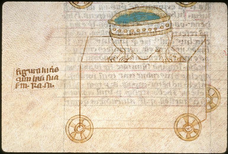 Postilla in Bibliam - Bassin de bronze pour le Temple_0
