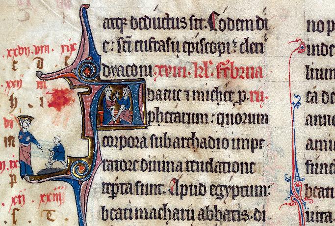 Martyrologe-obituaire de l'abbaye Notre-Dame des Prés de Douai - Habacuc et Michée/Invention des reliques d'Habacuc et de Michée_0