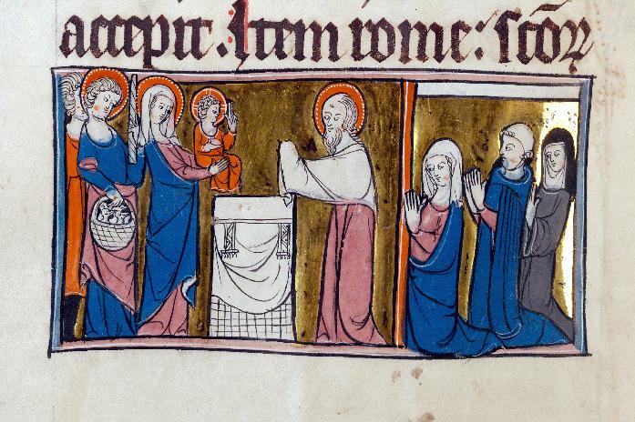 Martyrologe-obituaire de l'abbaye Notre-Dame des Prés de Douai