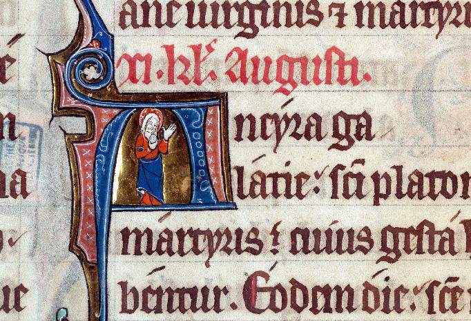 Martyrologe-obituaire de l'abbaye Notre-Dame des Prés de Douai - Sainte Madeleine_0