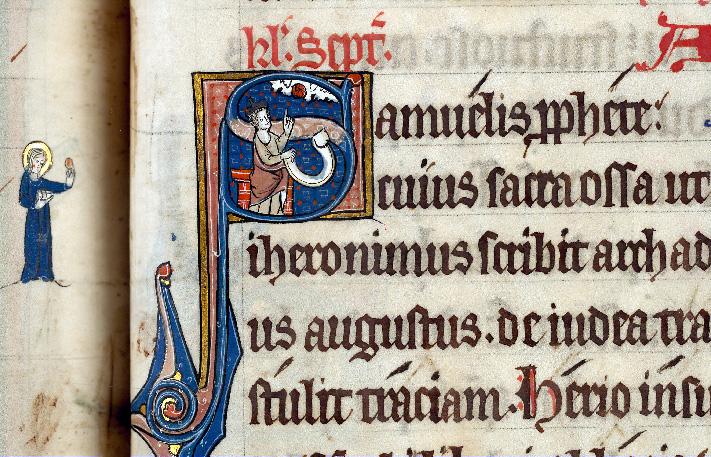 Martyrologe-obituaire de l'abbaye Notre-Dame des Prés de Douai - Samuel_0
