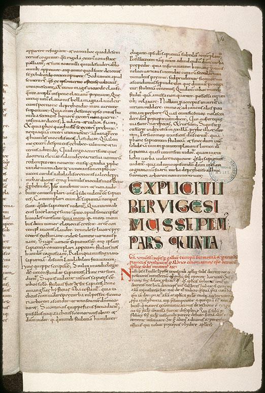 Moralia in Job - Ecriture d'apparat_0