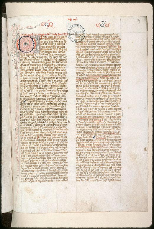 Postilla in Bibliam - Aigle aux ailes déployées_0
