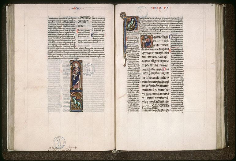 Evangiles glosés - Lion de saint Marc_0
