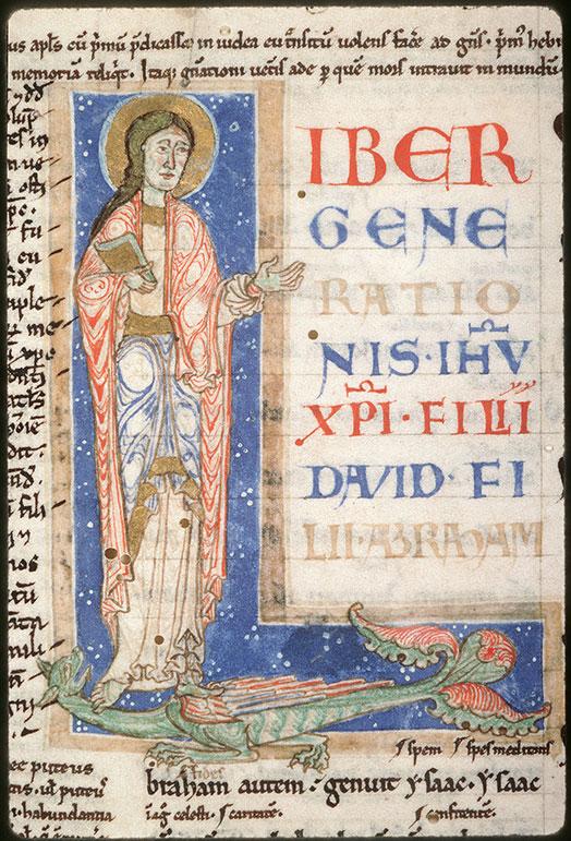 Evangile de Matthieu glosé - Saint Matthieu_0