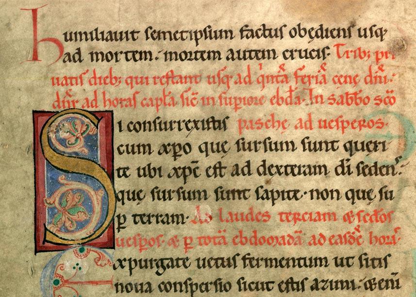 Collectaire à l'usage de l'abbaye Sainte-Rictrude de Marchiennes