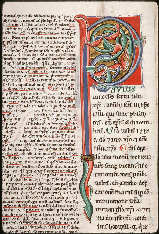 Comment. in Epistulas Pauli - Initiale ornée_0