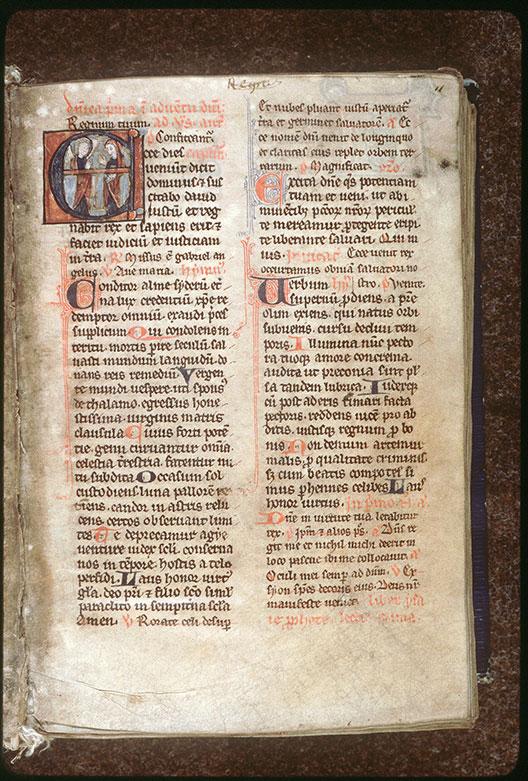 Bréviaire à l'usage de l'abbaye de Saint-Fuscien-aux-Bois - Annonciation_0