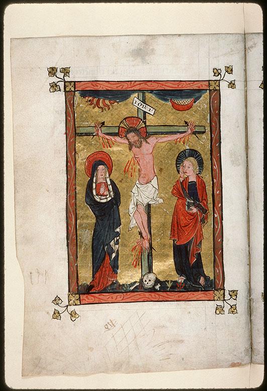 Missel - Christ en croix entre Marie et Jean_0