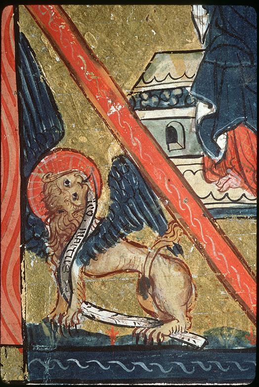 Missel - Christ en majesté entouré du Tétramorphe_0