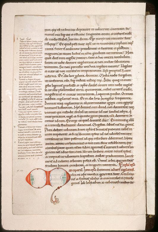 Epistulae/Opuscula - Initiale filigranée_0