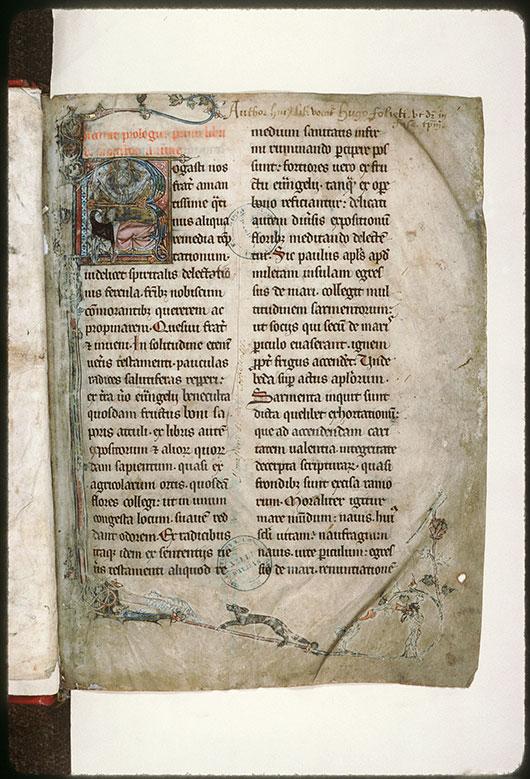 Claustro animae (De) - Page décorée_0