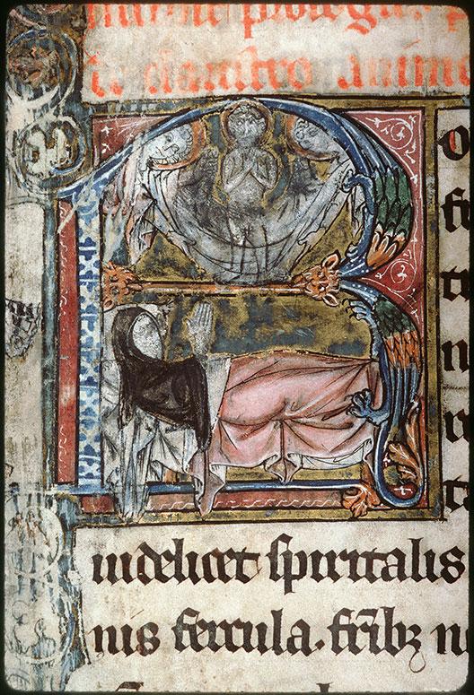 Claustro animae (De) - Mourant priant Dieu/Ame d'un mort recueillie par les anges_0