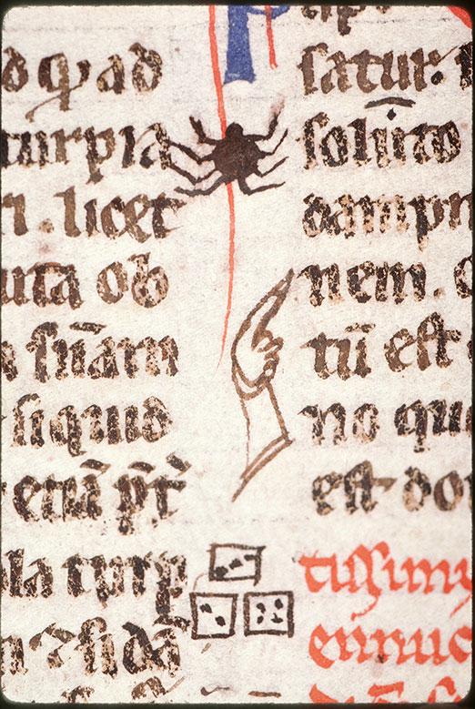 Digestum vetus - Araignée/Dés_0
