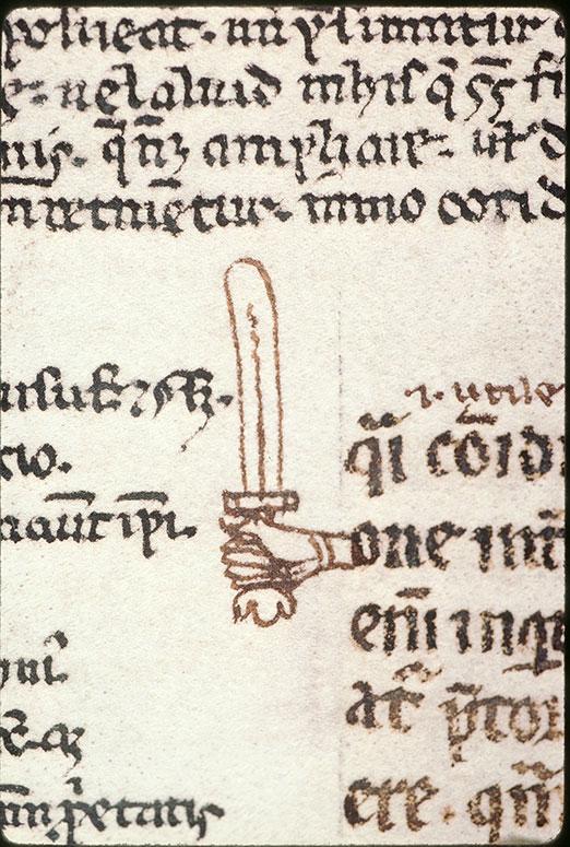 Digestum vetus - Main tenant une épée_0