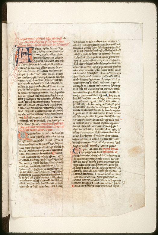 Recueil de droit canon - Initiale filigranée_0