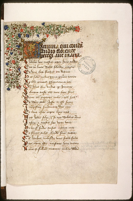 Consolatio philosophiae - Initiale et bandeau ornés_0