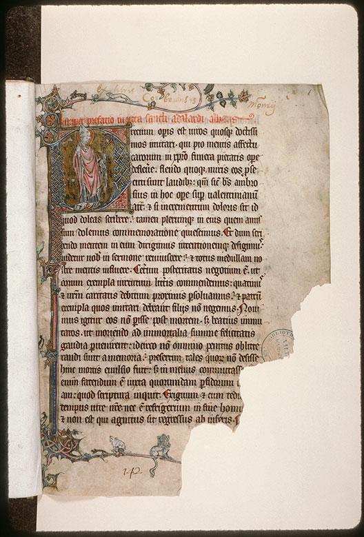 Vitae sanctorum - Saint Adalhard_0