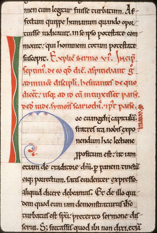 Tractatus in Evangelium Johannis - Initiale de couleur ornée_0
