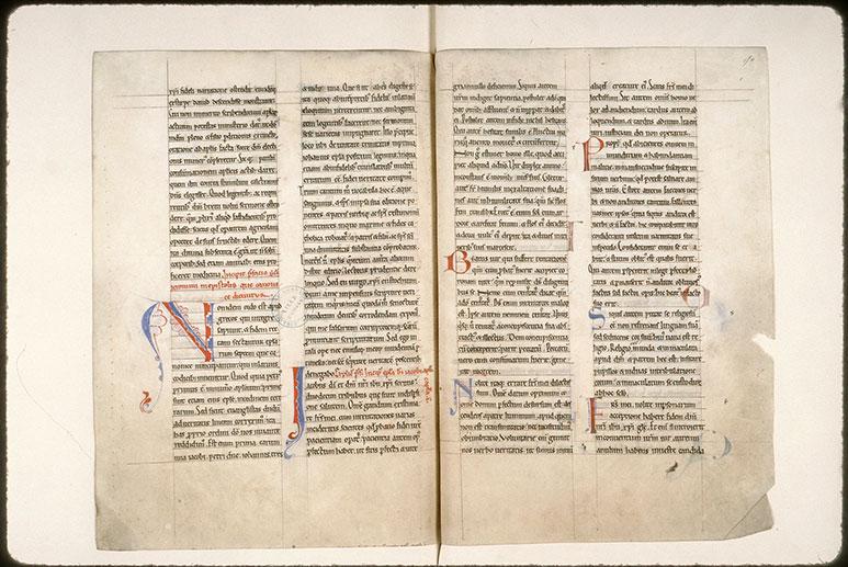 Epîtres de Paul - Initiales filigranées/Initiales de couleur ornées_0