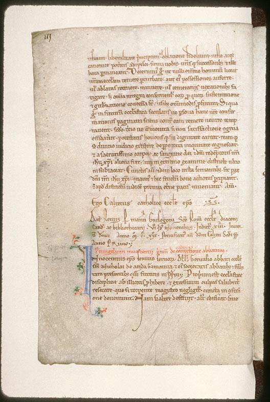 Cartulaire de l'abbaye Saint-Nicolas d'Arrouaise - Initiale filigranée_0