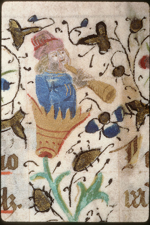 Bréviaire à l'usage d'Amiens (fragment)