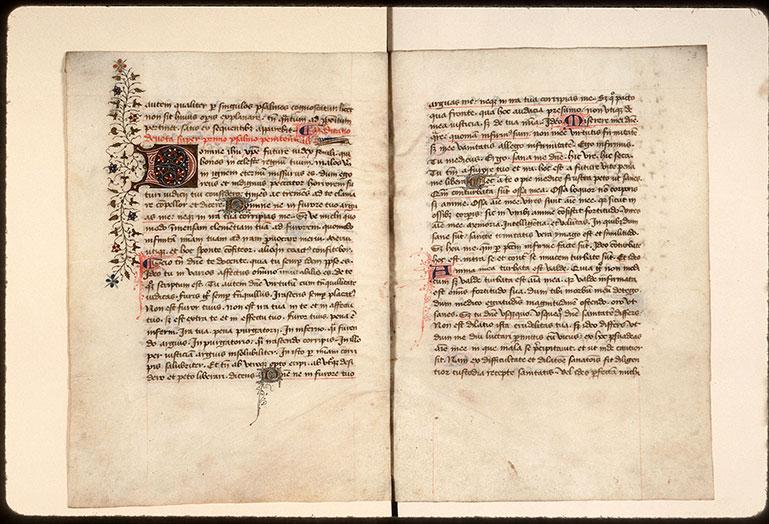 Meditationes in septem Psalmos poenitentiales - Initiales ornée et filigranées_0