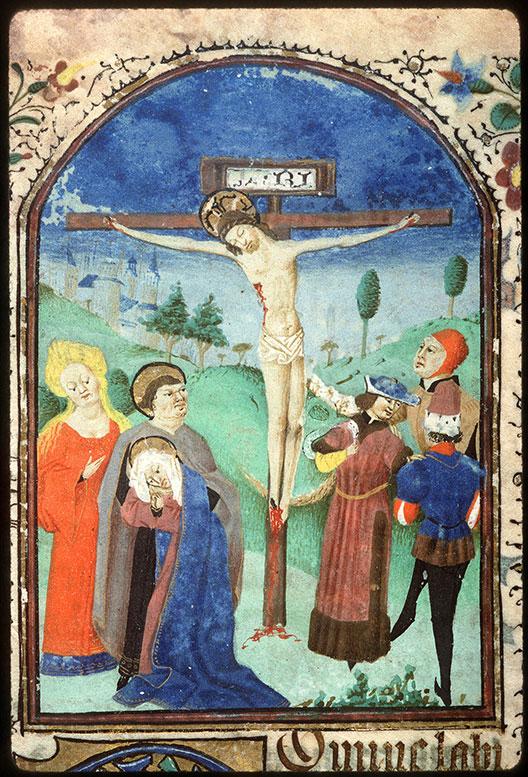Heures à l'usage d'Amiens - Crucifixion_0