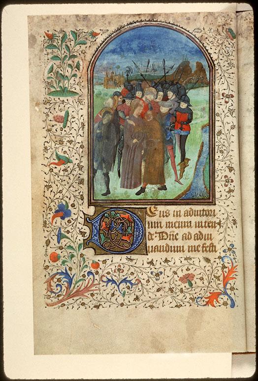 Heures à l'usage d'Amiens - Baiser de Judas_0