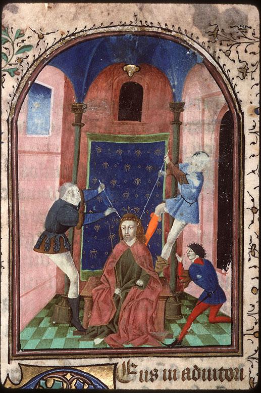 Heures à l'usage d'Amiens - Dérision du Christ_0