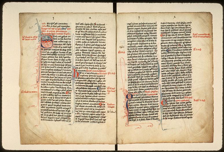 Laudibus beatae Mariae Virginis (De)/Sancto Johanne evangelista (De) - Initiales filigranées_0
