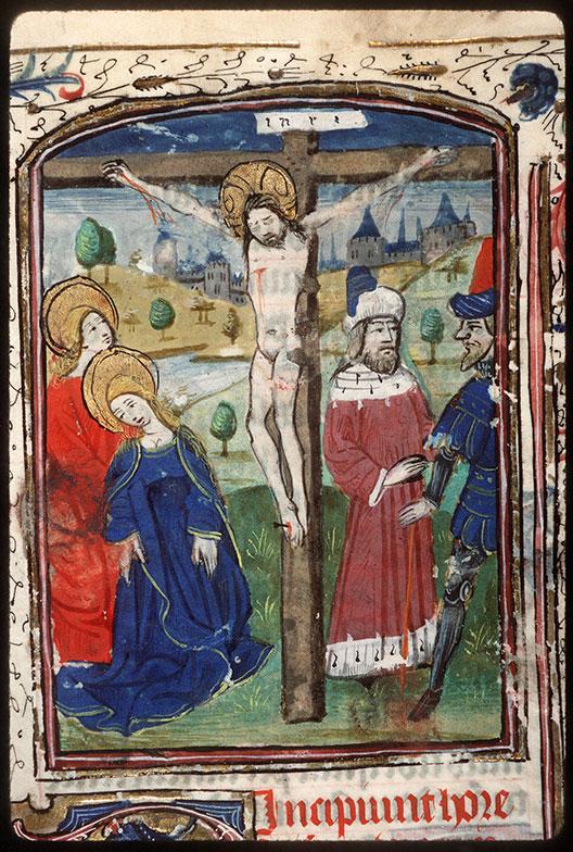 Heures à l'usage de Rome - Crucifixion_0