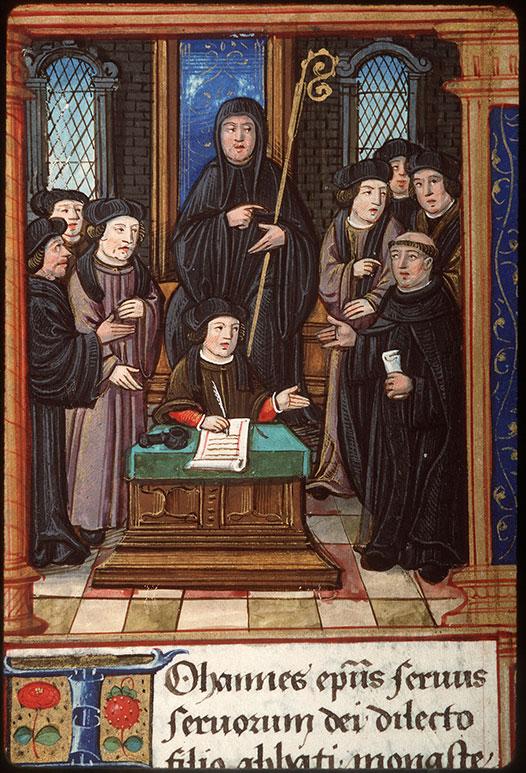 Cartulaire des frères de la Charité Notre-Dame, à Boucheraumont
