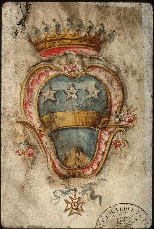 Statuts de l'ordre du Saint-Sépulcre de Jérusalem - Armes (à identifier)_0