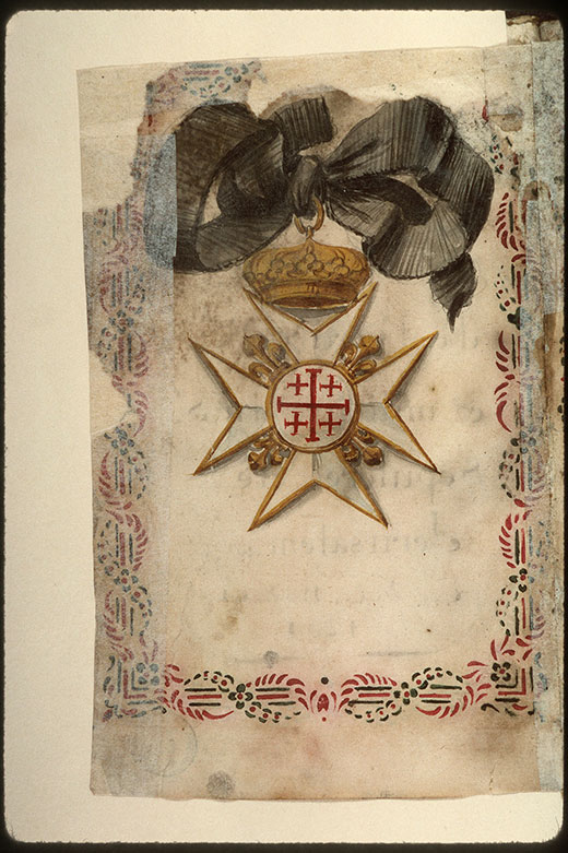 Statuts de l'ordre du Saint-Sépulcre de Jérusalem - Croix de l'ordre du Saint-Sépulcre de Jérusalem_0