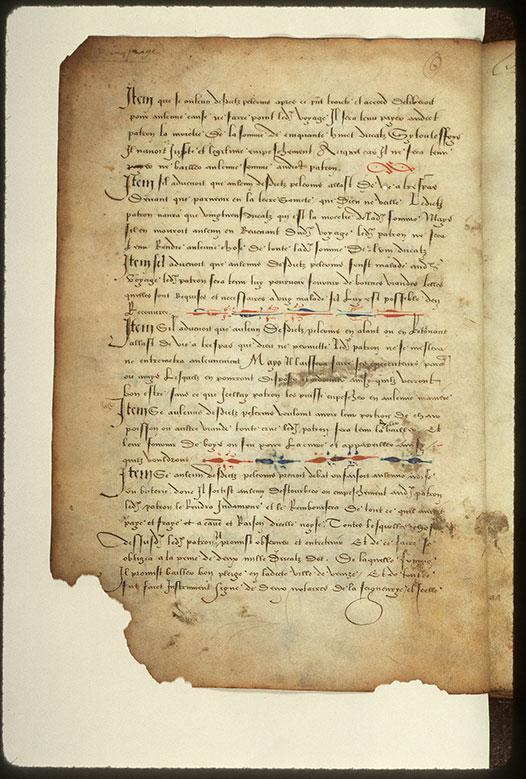 Journal de pélerinage au Saint-Sépulcre - Bouts-de-ligne ornés_0