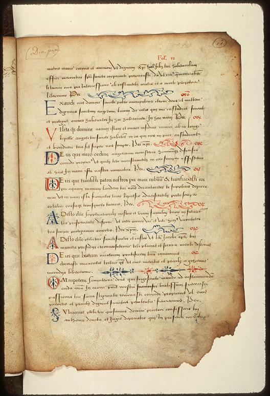 Journal de pélerinage au Saint-Sépulcre - Initiales et bouts-de-ligne ornés_0