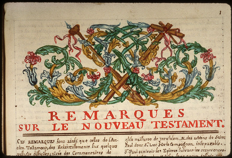 Recueil historique et littéraire - Instruments de la Passion_0