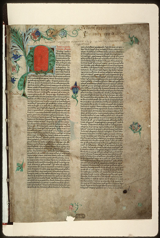 Rationale divinorum officiorum - Page décorée_0