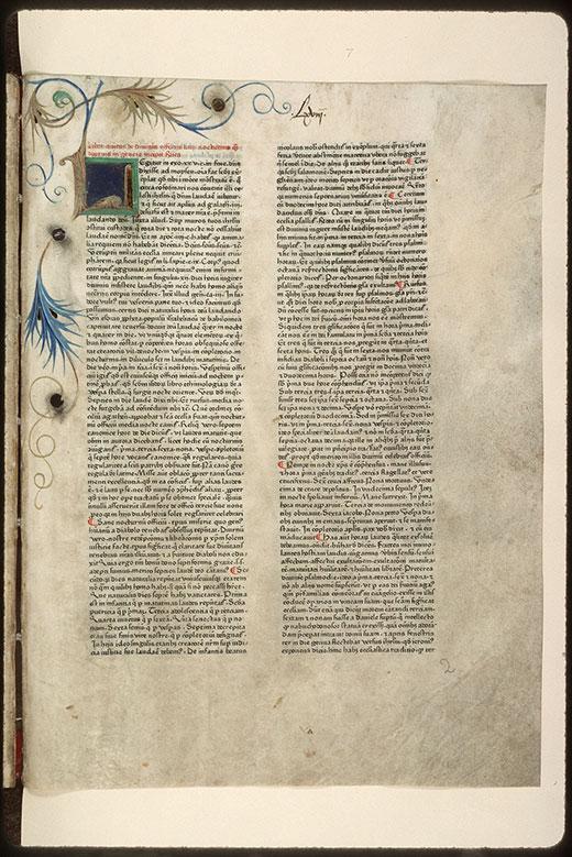 Rationale divinorum officiorum - Initiale ornée_0