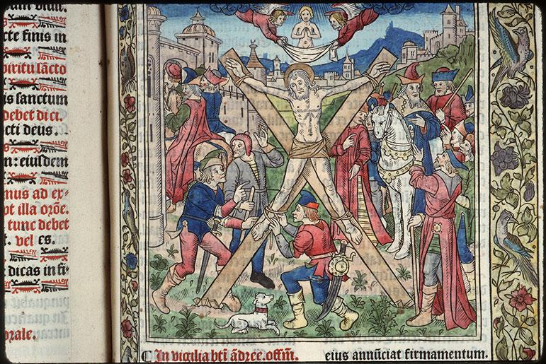 Missel - Crucifiement de saint André_0