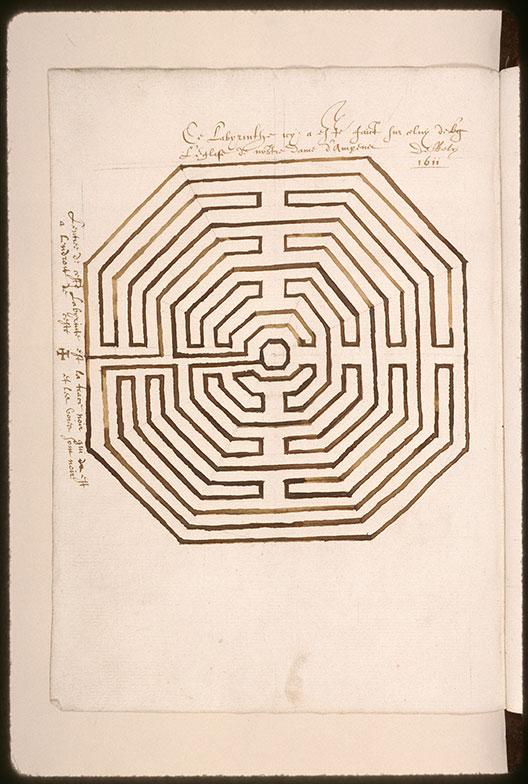 Dessins de labyrinthes - Labyrinthe_0
