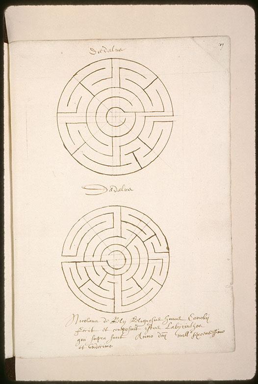 Dessins de labyrinthes