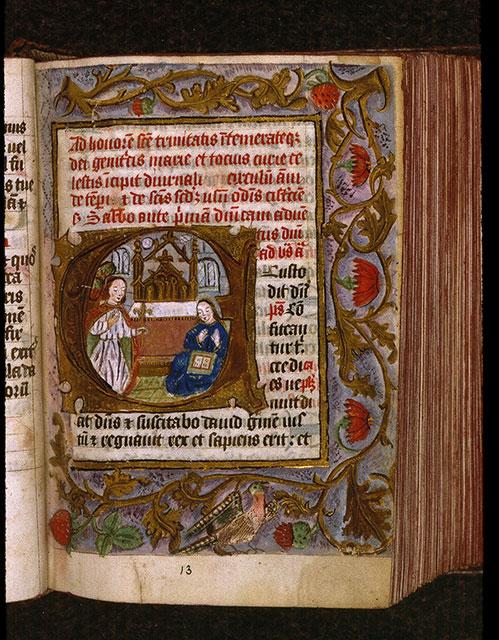 Diurnal cistercien - Oiseau_0
