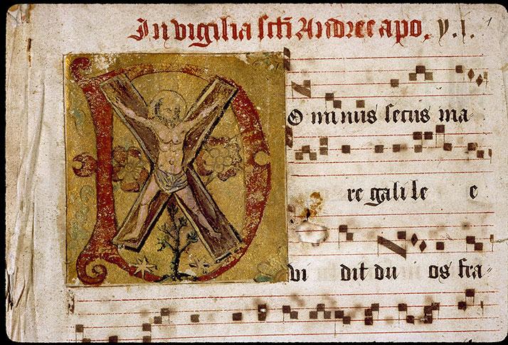 Graduel romain - Crucifiement de saint André_0