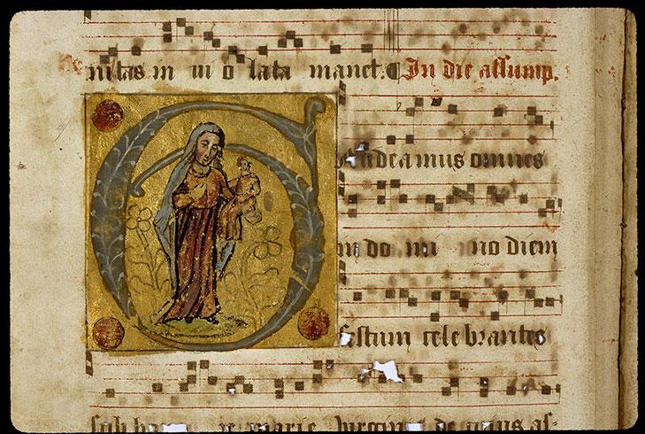Graduel romain - Vierge à l'Enfant_0
