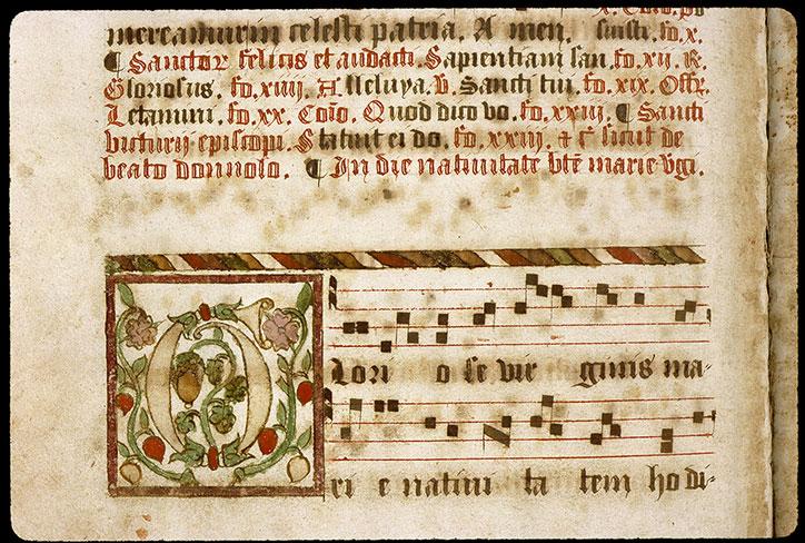Graduel romain - Initiale ornée_0