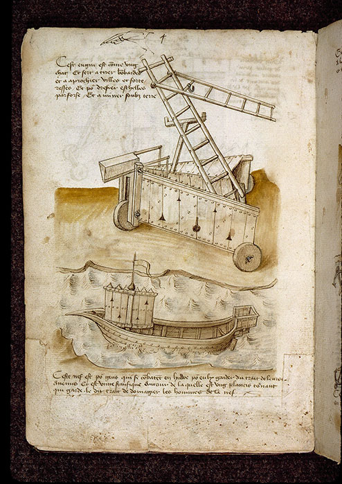 (Figures d'ouvrages de génie civil et militaire) - Machine de guerre/Flotte de guerre_0